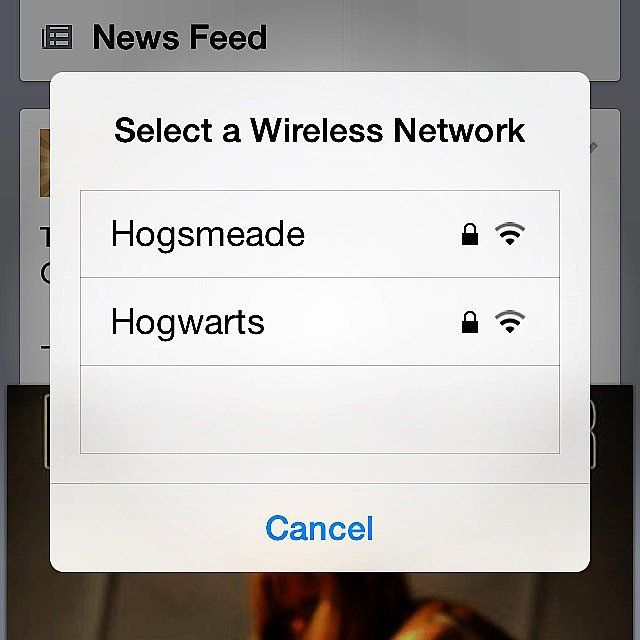 Behold, the World's Funniest WiFi Names