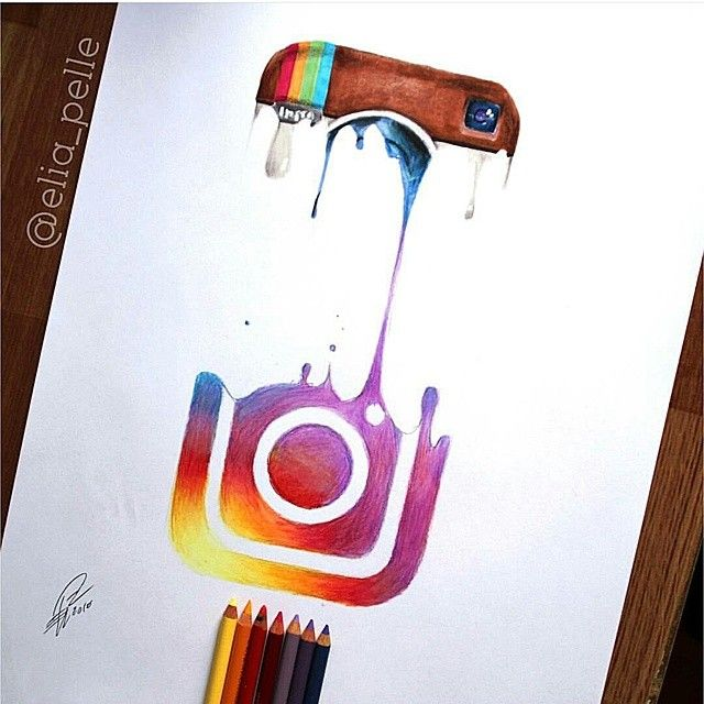 Instagram with pastels