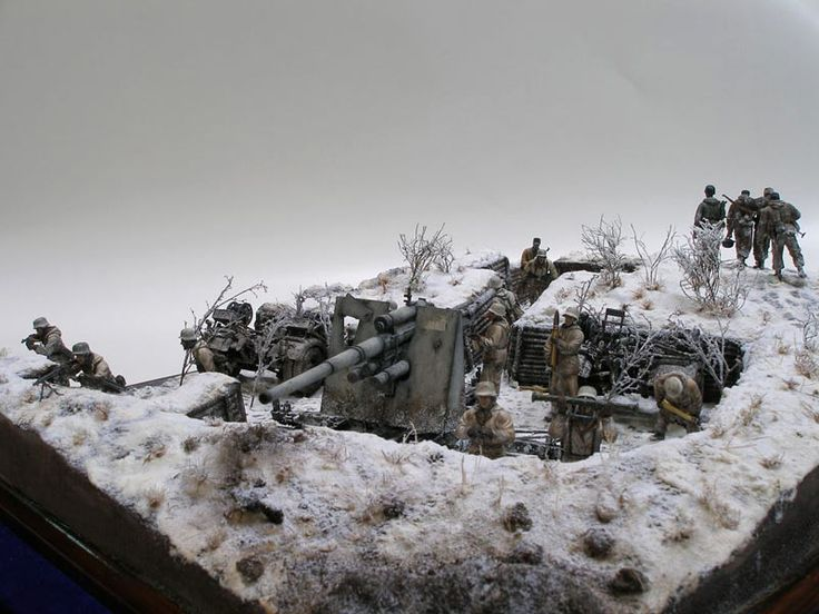 Dioramas and Vignettes: Winter episode of WWII, photo #2
