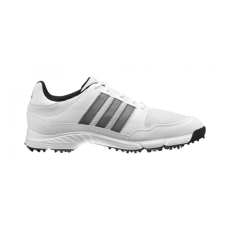 Adidas Tech Response 4.0 816570-672981 White/Silvr Men's Golf Shoe from  @golfskipin