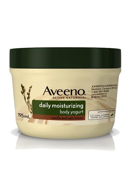 AVEENO®  Daily Moisturizing Body Yogurt Lotion Vanilla & Oats  I'm going to be reviewing this soon with the body wash!  My skin is going to be so happy. #AveenoBodyYogurt #gotitfree #chickadvisor