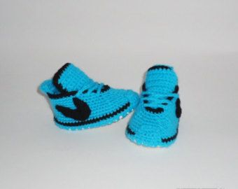 Custom Baby Shoes, Custom Sneakers, Baby Sneakers, I Love Mom Shoes, Nike Custom Shoes, Nike Boots , Baby Booties, Baby Crochet Converse,  Baby shoes on demand. They are so beautiful design that anyone will see them enjoy them. ************************************************** ************************************ They have an inscription on one shoe - I love Mom The other shoe - I love Daddy ************************************************** ************************************ Made of…