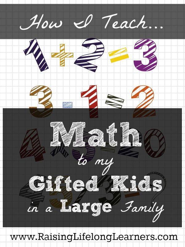 how to teach math homeschool