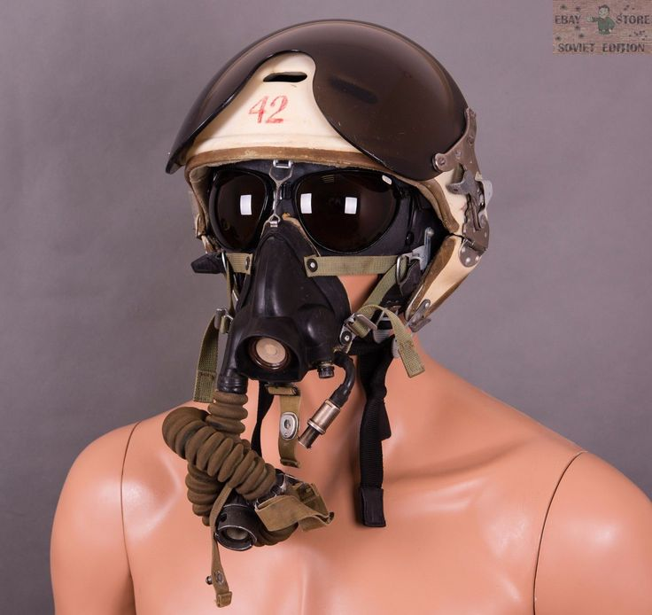 HELMET ZSH-3M   Leather helmet  Oxygen mask  . LEATHER PILOT HELMET of soviet times. PILOT GOGGLES of soviet times PO-1M (ПО-1М). OXYGEN MASK KM-32. Helmet was made of genuine supple leather, natural fur inside. | eBay!