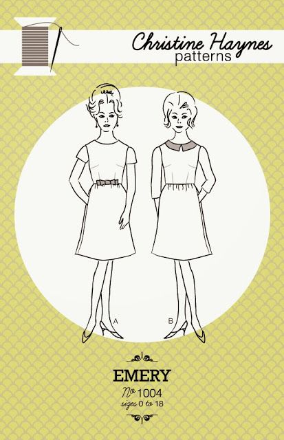 The Emery Dress by Christine Haynes Patterns