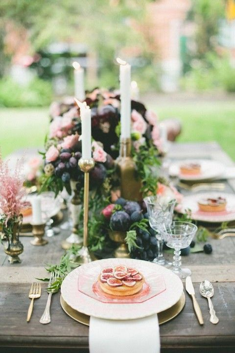 45 Fig Desserts And Cocktails For Your Big Day   HappyWedd.com