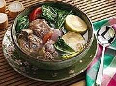 Beef Knuckle Sinigang Recipe http://www.pinoyrecipe.net/642/