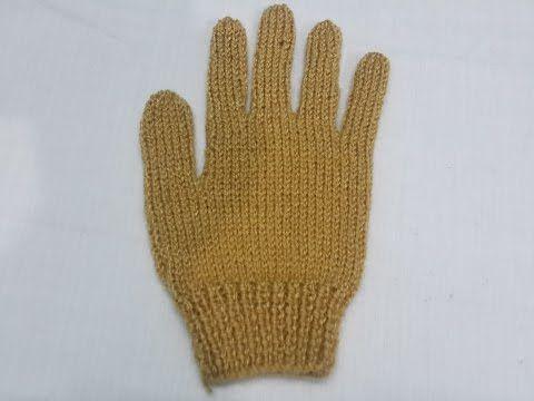 Mejores 12 imágenes de guantes con dos agujas en Pinterest | Gorros ...