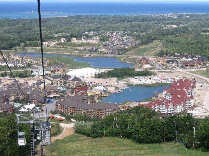 Blue Mountain Ski Resort, Collingwood, ON.