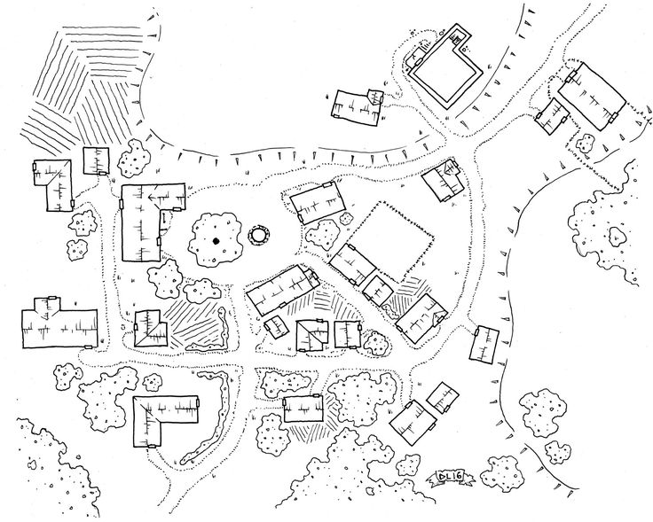 maps village map fantasy town rpg layout layouts dungeon