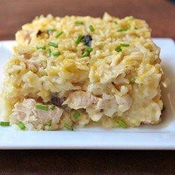 Mamaw's Chicken and Rice Casserole - Allrecipes.com