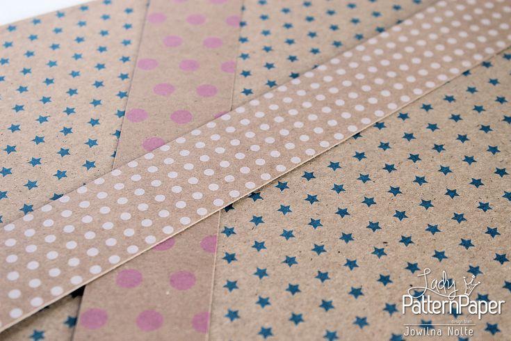 #KraftEssentials #LadyPatternPaper #Scrapbooking #CardMaking #PaperCrafts #PatternedPaper