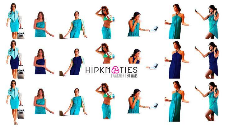 Hipknoties Fashionable Multi Way Convertible Clothing