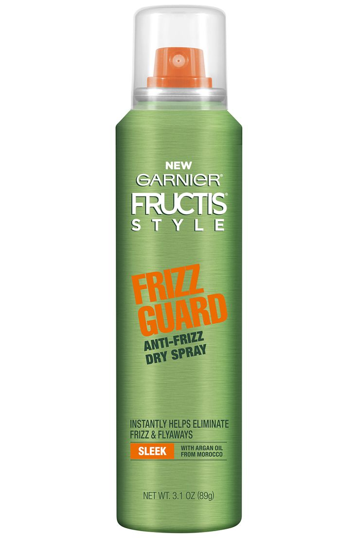 The Best Drugstore Beauty Buys of 2017 | This airy mist calms frizz and flyaways without weighing hair down at all. Use it as the last step in your styling routine. Garnier Fructis Style Frizz Guard Anti-Frizz Dry Spray, $4.29, launching January 2017 in drugstores.