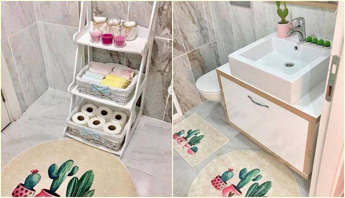 ديكور حمام صغير Small Bathroom Renovations Apartment Design Small Studio Apartment Design