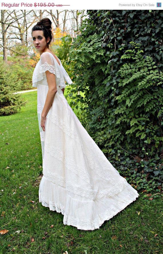 Senorita style wedding dress