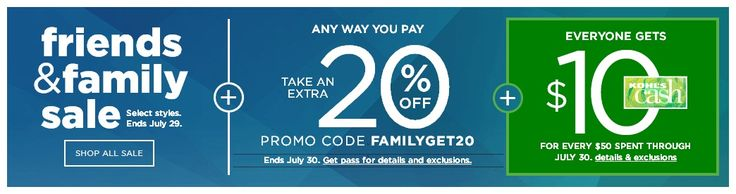Kohls 60% Off Friends & Family Sale  Extra 20% Off July 2017 #Coupons http://ift.tt/2eTUTlZ
