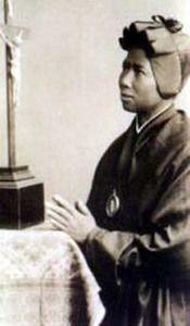 February 8: St. Josephine Bakhita (born 1868, died 1947; aged 79).