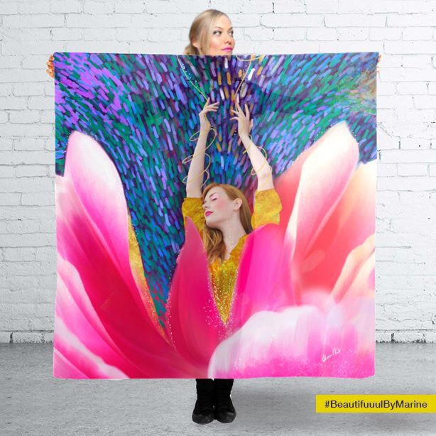 Sunshine Blossom scarf Created by @BeautifuuulByMarine  Available here: http://rdbl.co/2mGPcdo