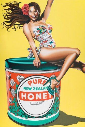 Honey, Honey by Rachael Foster for Sale - New Zealand Art Prints