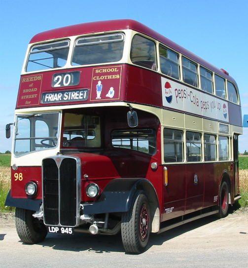 AEC - 50's #bus Reading, Berks.  ........ fred67.com/library .......