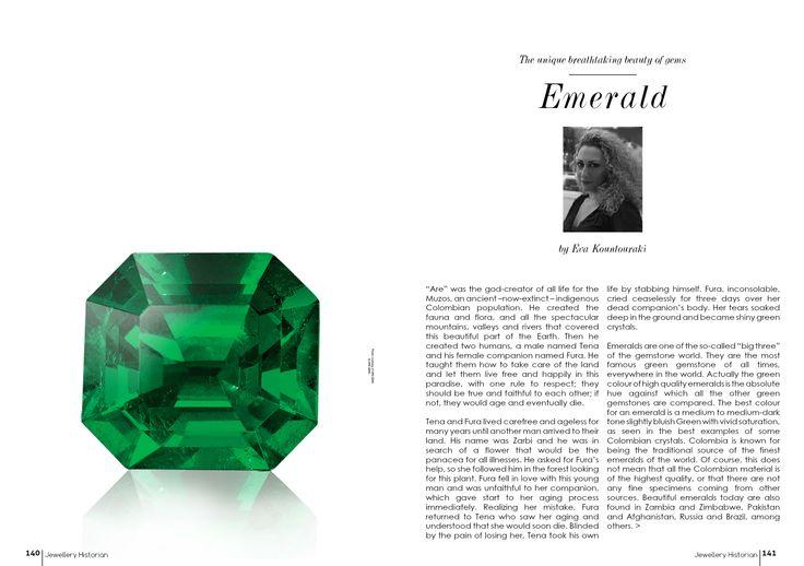 EMERALDS www.jewelleryhistorian.com