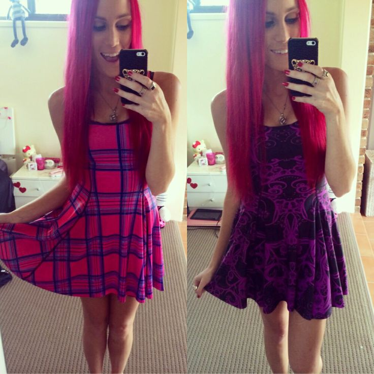 My custom 200th piece Tartan barbie vs plum bath inside out dress