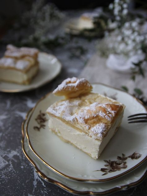 Godaste vaniljrutorna i långpanna - Karpatka