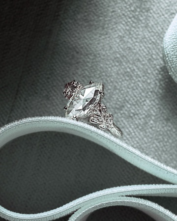 Marquise-Cut Diamond Engagement Ring...apparently I like the marquise cut too