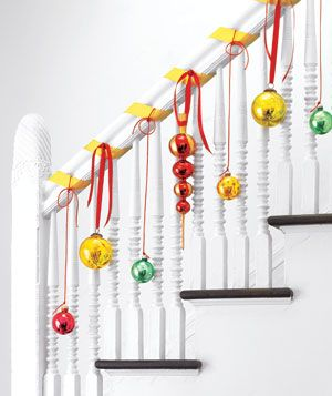 Looking for new ways to deck the halls? Check this gallery of inspired holiday decorations.  LOVE THIS!