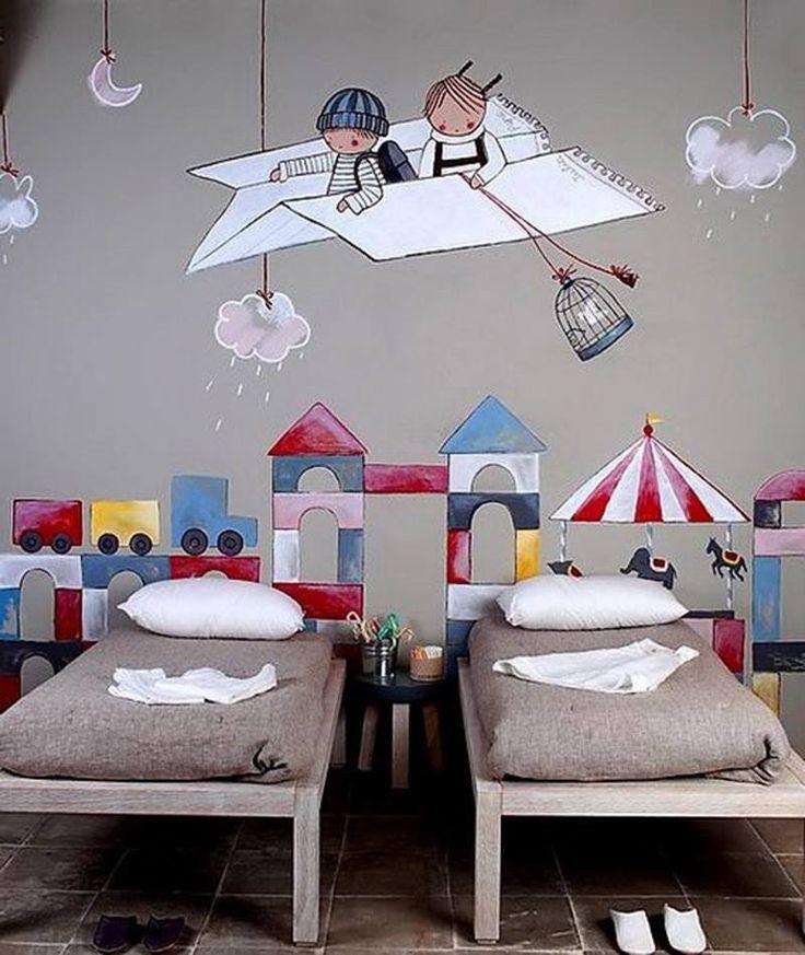 Fun kids bedroom