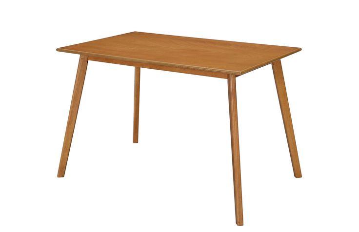 ΔΙΑΦΑΝΟ - Τραπέζι τραπεζαρίας SPARROW 120x75x75εκ.
