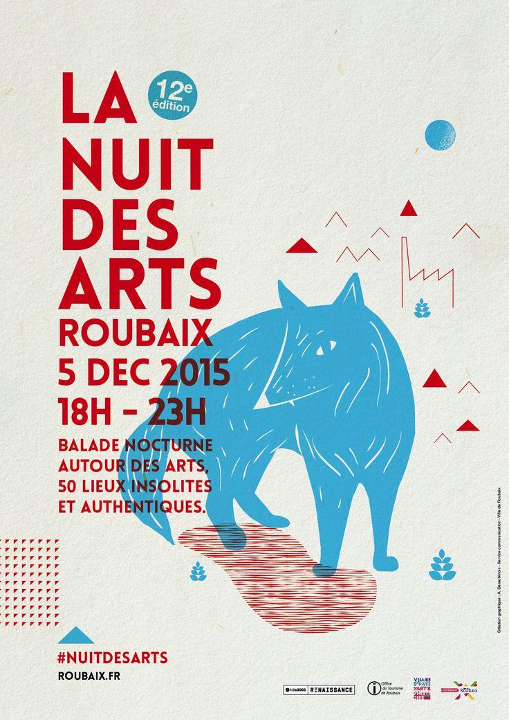 Nuit des Arts - Déc 2015 ©Amandine Derachinois - Ville de Roubaix