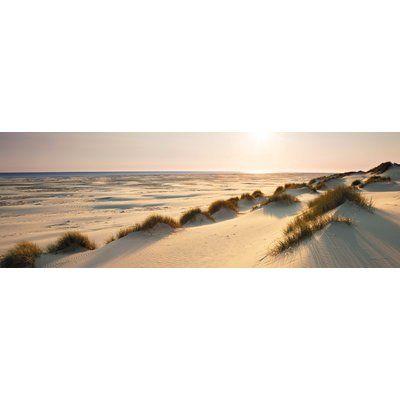 Leinwandbild Nordsee-Dünen