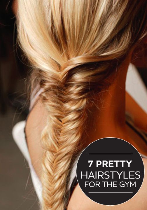 These hairstyles for the gym are not only practical but pretty too!