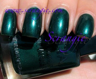 Scrangie: Ulta Envy.  This is a gorgeous color, but it stained like a mofo.  I bought this really early on in my collecting, and it seems like my nails haven't been a normal non-yellow color since.  I DO use base coat, but it seems to happen anyway.