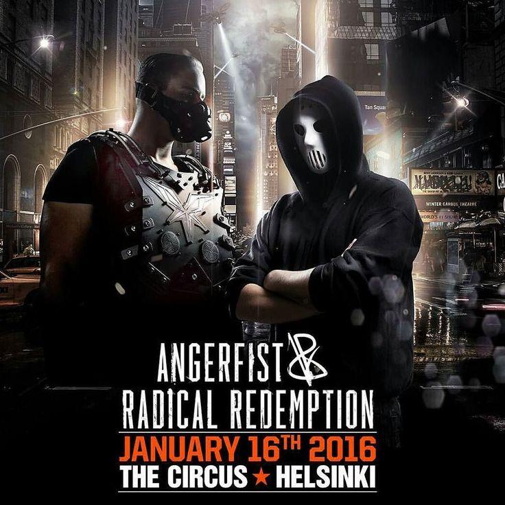 On instagram by juuulimoi #angerfist #gabbermadness (o) http://ift.tt/1JSB5bM!   #radicalredemption #clublife #clublifefinland #repost #hardstyle #rawstyle #hardcore #harddance #helsinki #circus #circushki #tonight