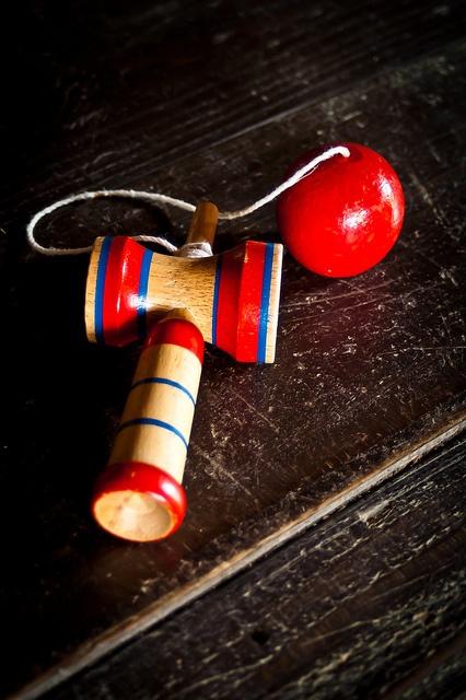 Japanese traditional toy, Kendama