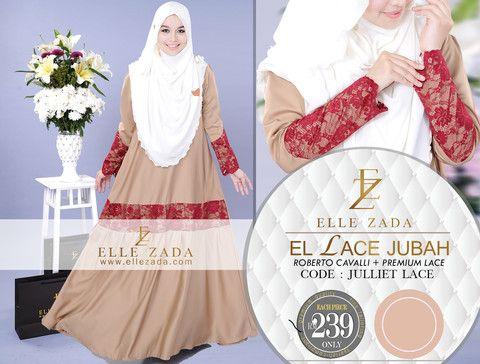 Jubah Muslimah Nursing Modern