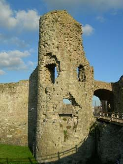 The Ghosts of Pevensey Castle