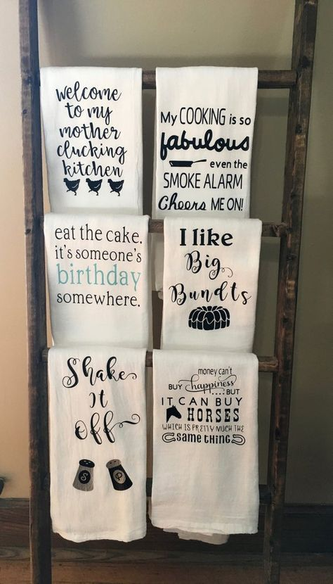 Kitchen Towel/Flour Sack/Tea Towel/Dish Towel/Funny