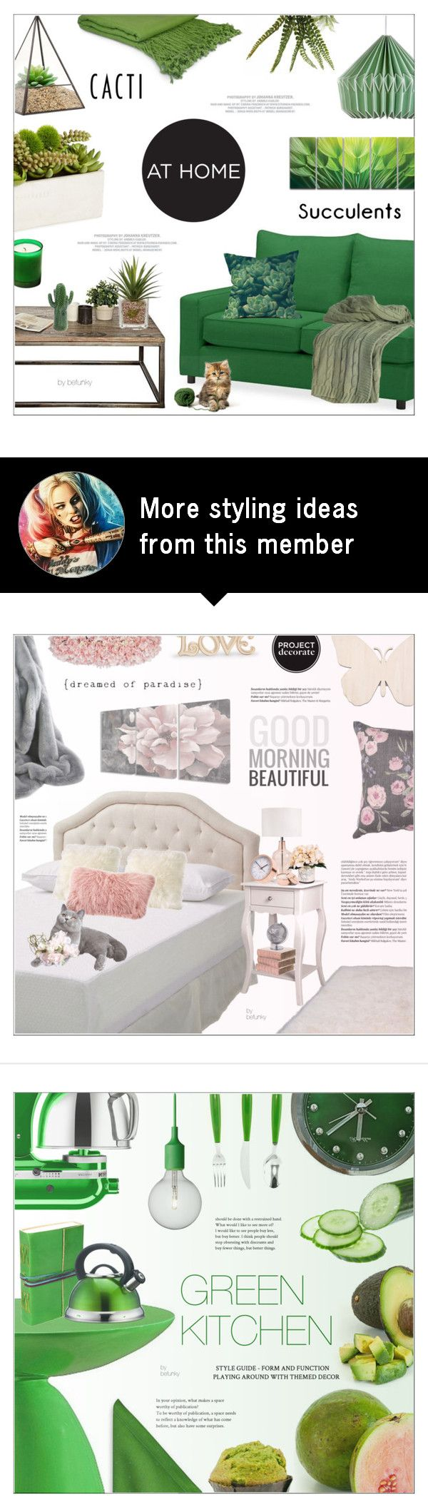 """""""Cacti + Succulents"""" by befunky on Polyvore featuring interior, interiors, interior design, home, home decor, interior decorating, Pottery Barn, Dot & Bo, Wild & Wolf and Serax"""