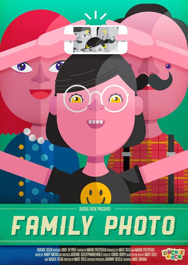 Duckie Deck - Posters by Duckie Deck, via Behance