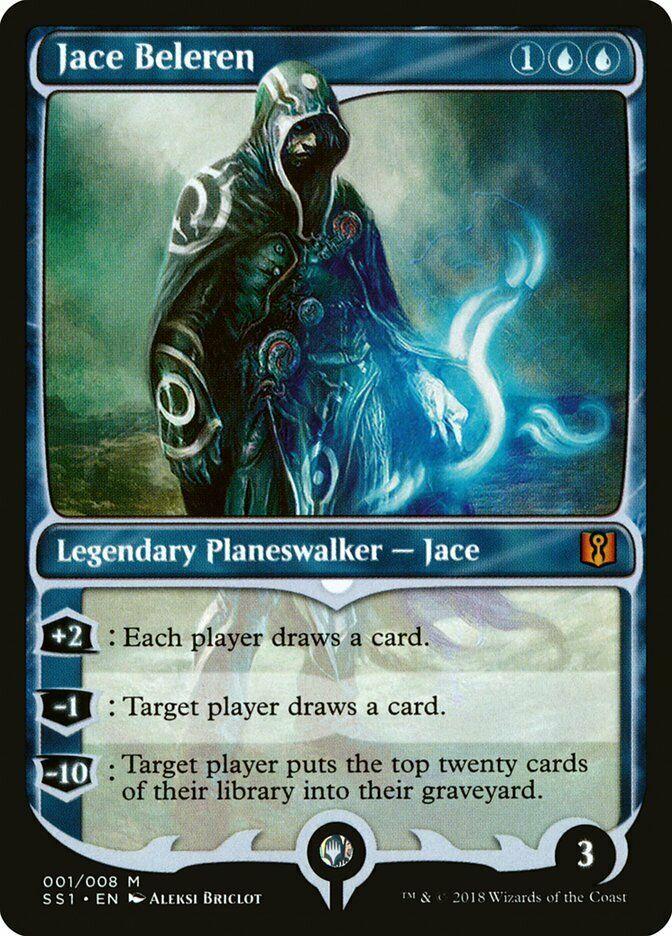 1x Jace Beleren Magic 2010 Light Play English MTG