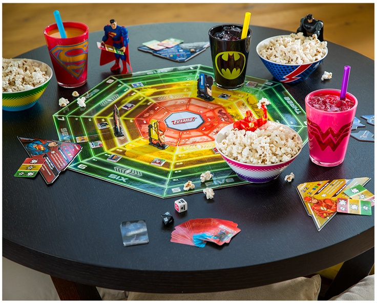 Game day? Add superhero plates, cups and more to make family time even more fun.