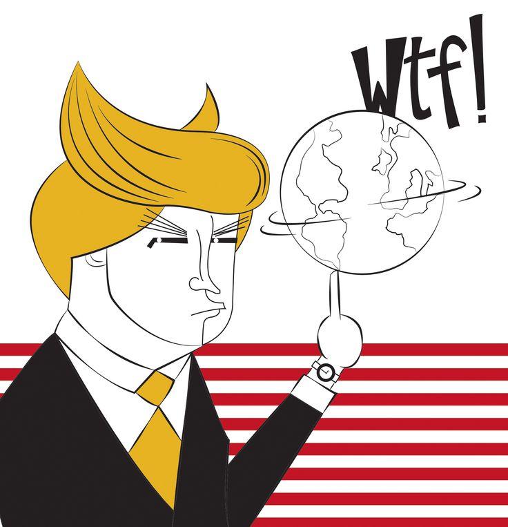 "Consultate il mio progetto @Behance: ""Donald WTF Trump"" https://www.behance.net/gallery/45492165/Donald-WTF-Trump"