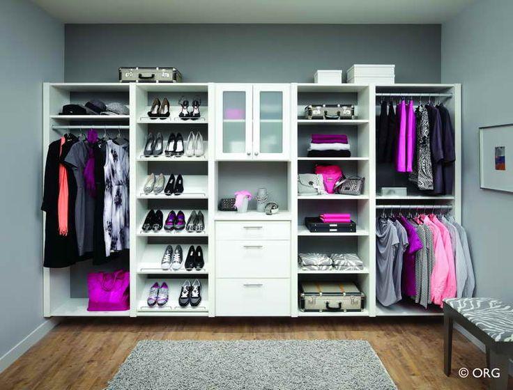 The Most Affordable DIY Closet Organizer: DIY Closet Organizer With Hardwood Floors – Vissbiz