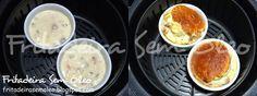 Que delícia um souflé quentinho e fofinho feito rapidamente na AirFryer! Esta receita é uma daquelas coringas, pois pode ser feita com qualq...