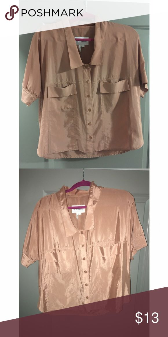 BCBGeneration Top sz S Cute lightweight top. Looks good with blue denim and white denim. Worn a couple times. BCBGeneration Tops Blouses