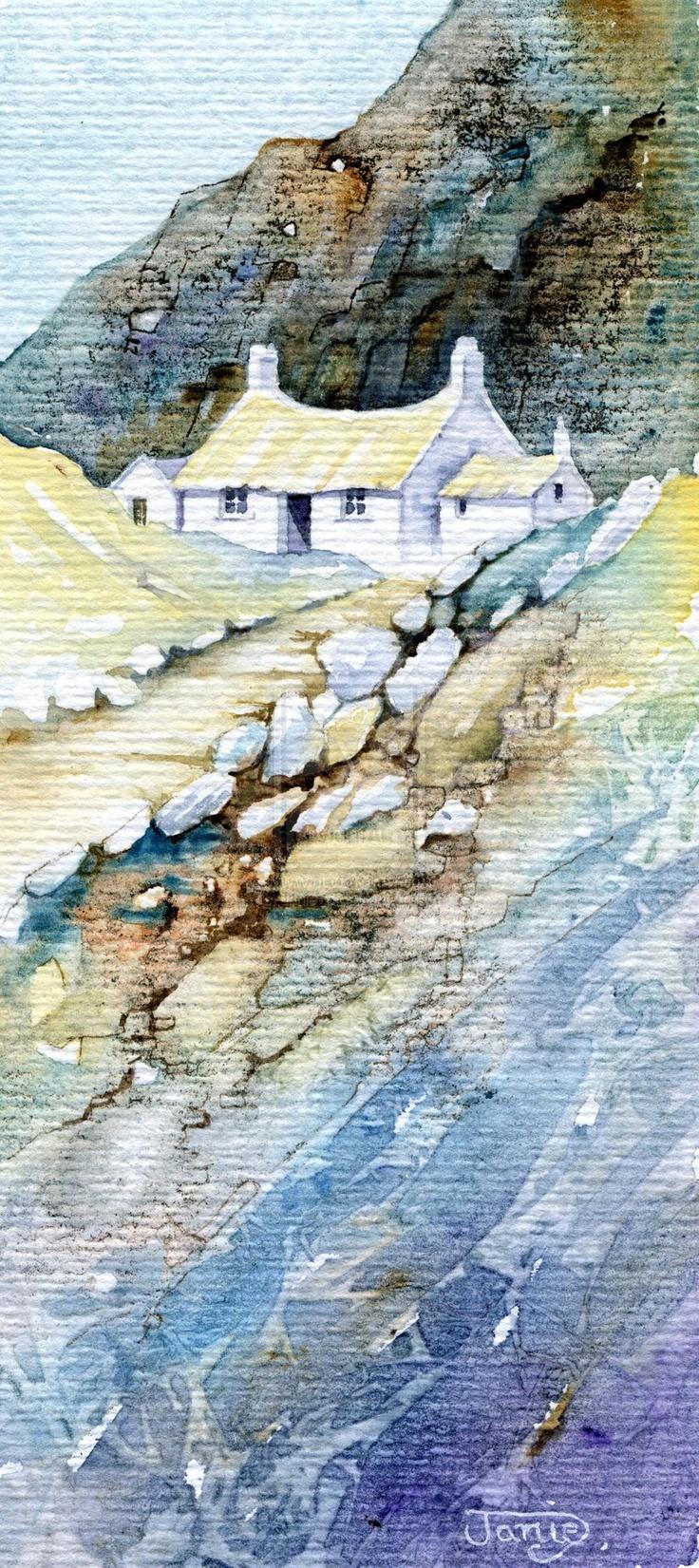 Mountain Farm by *Janie-G on deviantART